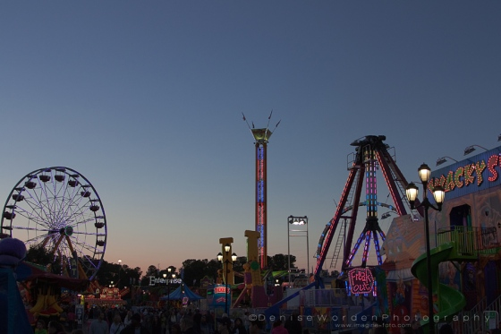 Sunset on The Midway