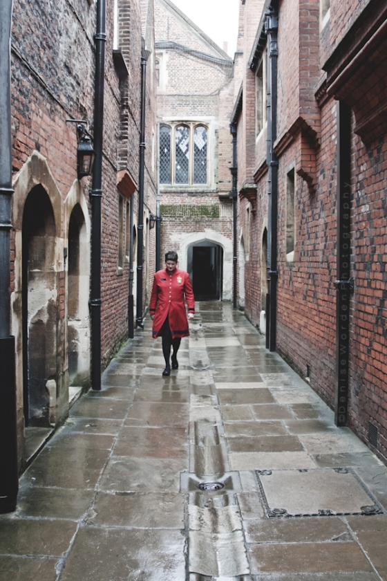 Passageway to the kitchens of Henry VIII