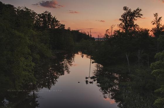 White Oak Creek Sunset