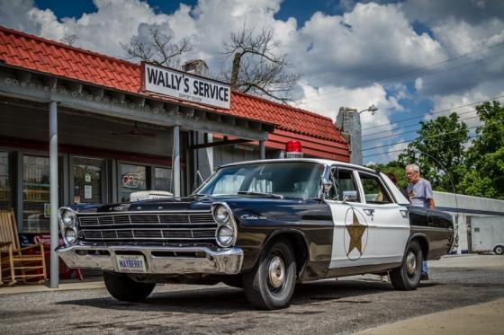 Wally's Service.