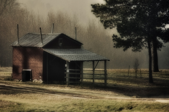 Barn In The Country 12 x 18 Matte Luster