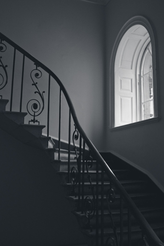 Somerset House Stairway 11 x 15 Matte archival cotton rag