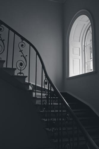 Somerset House Stairway 11 x 15 Matte archival cotton rag