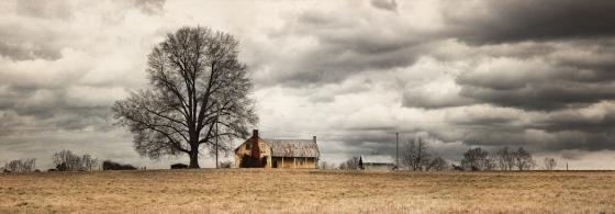 Rural Homestead 8.25 x 25 Archival Cotton Rag
